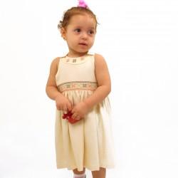 Cross-Stitch Peach Dress