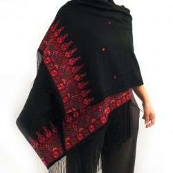 Cross-Stitch Shawl Rectangle