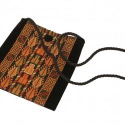 Embroidered Evening Bag -Brown Sarou