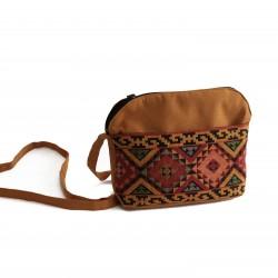 Hand-Woven Small Bag -Golden