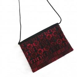 Cross-Stitch Clutch Bag