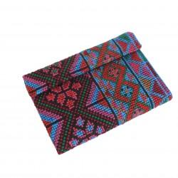 Cross-Stitch Light Blue Wallet