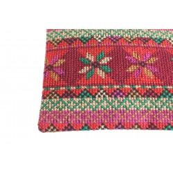 Cross-Stitch Makeup Bag- Old Palestine