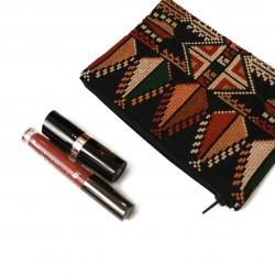 Cross-Stitch Makeup Bag-  Biny