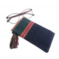 Hand-Woven Eyeglass Case