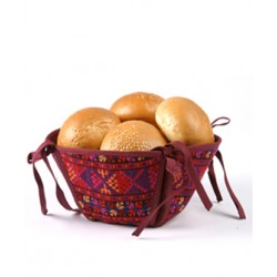 Cross-Stitch Bread Basket