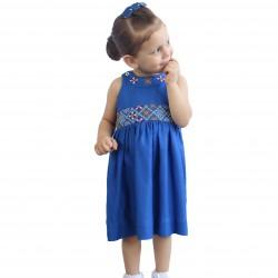 Cross-stitch girls Dress