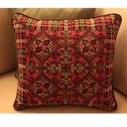 Cross-Stitch Pillow - Nojoom