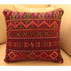 Cross-Stitch Pillow - Modern Old Palestine