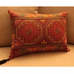 Cross-Stitch Karmidi Pillow