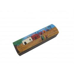 Hand-Painted Rectangular Box Traditional