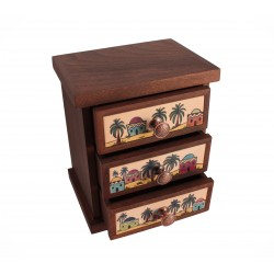 Hand-Painted Accessory Box