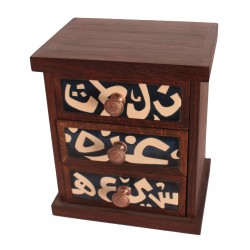 Hand - Painted Accessory Box