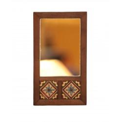 Mirror with Arabesque Tiles 2