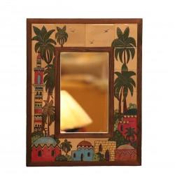 Hand-painted Kariya Mirror
