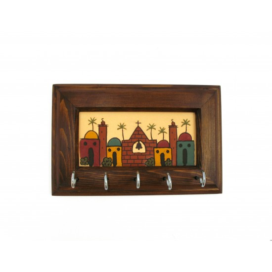 Wooden/ Ceramic Key holder