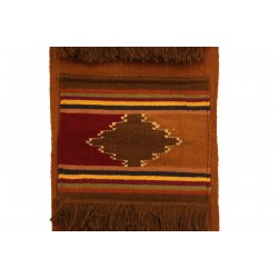 Hand-Woven Wall Hanging with Pockets