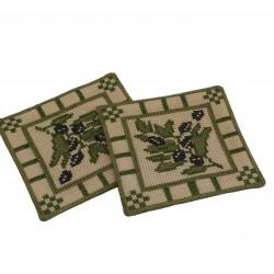 Cross Stitch Zaitoon Coaster
