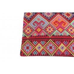 Cross-Stitch Makeup Bag