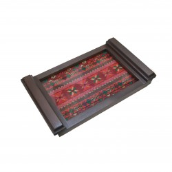 Small Embroidered Tray- Old Palestine
