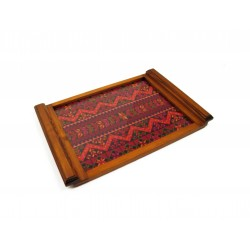 Large Embroidered Tray