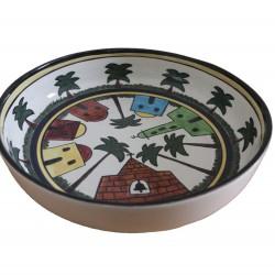 Hand-Painted Large Dish Kariya