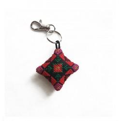 Cross-Stitch Miniature Key ring