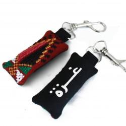 Cross-Stitch Gaza Key ring