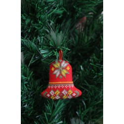 Cross-Stitch Christmas Ornaments
