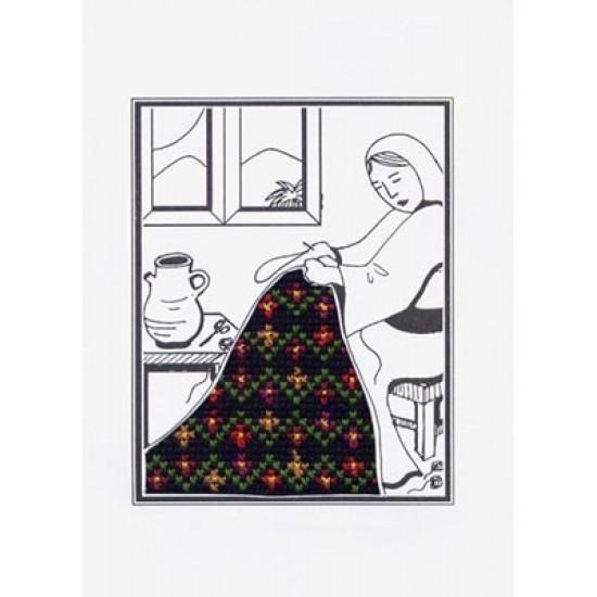Cross-Stitch Noelle Card