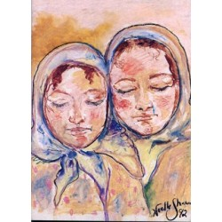 Two Sisters Card