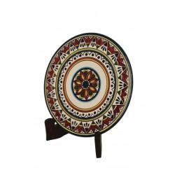 Medium Round Zakharafa Dish