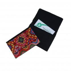 Cross-Stitch Cardholder -Dark Green