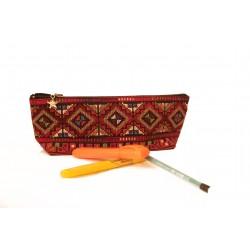 Cross-Stitch Pencil Case