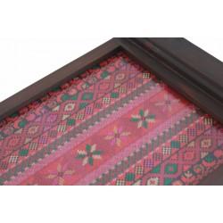 Medium Embroidered Tray-Old Palestine