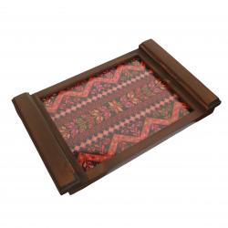 Medium Embroidered Tray
