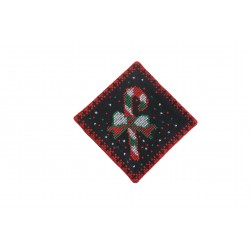 Cross-Stitch Christmas  Coaster