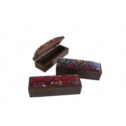 Cross-Stitch Rectangular Box