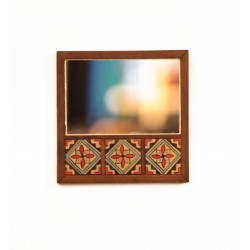 Mirror with Arabesque Tiles 3