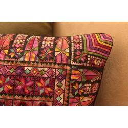 Cross-Stitch Large Pillow