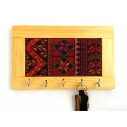 Keyholder with Embroidery