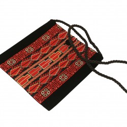Embroidered Evening Bag -Red Sarou