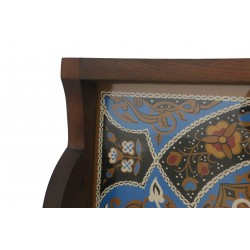 Hand-Painted Curved Tray
