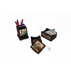 Hand-Painted Office Set