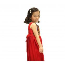 Cross-Stitch Red Dress Sarou