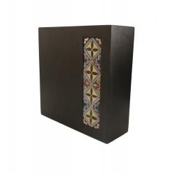 Wooden Ceramic  Vase 1